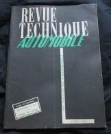 REVUE TECHNIQUE AUTOMOBILE CITROEN 2CV - Avril 1951 - Auto