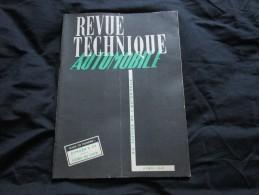 REVUE TECHNIQUE AUTOMOBILE – CITROEN C4 – C6 – TRANSMISSION STUDEBAKER – AOUT 1951 - - - Auto