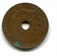 INDO-CHINE  FRANCAISE  1917  1 CENT - Monnaies