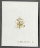 1983-84 ANNO SANTO Vatican City 2-Coin Mint Set Unc Pope Ioannes Paulus II CITTA DEL VATICANO - Vaticano