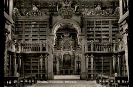 BIBLIOTHEQUES - Livres - COIMBRA - Portugal - Bibliothèques
