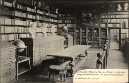 BIBLIOTHEQUES - Livres - ANTWERPEN - Belgique - Globe Terrestre - Bibliothèques