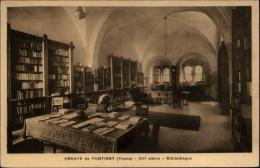 BIBLIOTHEQUES - Livres - Abbaye De PONTIGNY - Bibliothèques