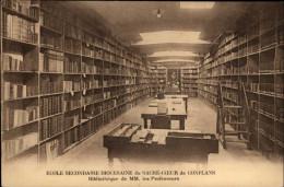 BIBLIOTHEQUES - Livres - CONFLANS - Bibliothèques