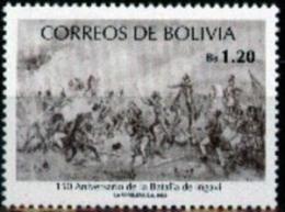 Bolivia 1992 CEFIBOL 1443 ** 150 Años Batalla De Ingavi.  Pintura. - Bolivia