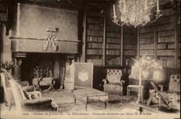 BIBLIOTHEQUES - Livres - Chateau De JOSSELIN - Bibliothèques