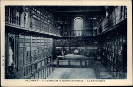 BIBLIOTHEQUES - Livres - Couvent Grande Chartreuse - - Bibliothèques