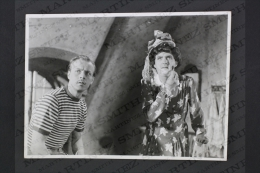 Original Vintage Press Real Photography Cinema/ Movie 1945: Fram För Lilla Märta - Actor: Stig Järrel - Personalidades Famosas