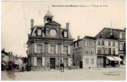 Sermaize Les Bains - L'Hôtel De Ville ( édit. Vve Bellorget ) - Sermaize-les-Bains