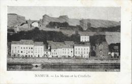 Namur - La Meuse Et La Citadelle - Carte VED