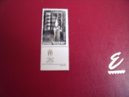 ( L 16     )   Timbres  Israel   Année;  1968     Y.T.  Neuf  ** N°  361 - Neufs (avec Tabs)