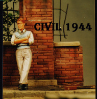 """- NEMROD - Figurine """" Civil Juin 1944 """" - 1/35°- Réf 35047 - Figurines"""