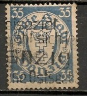 Timbres - Allemagne - Etranger - Dantzig - 1924 - 35 Pf. -