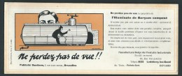 Buvard illustr�. Ptoduits industriels. Epurateur et Disincrustant Eaux  chaudi�res. Ledeberg lez-Gand. Sign� par Cuyck.