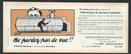 Buvard Illustré.  Ledeberg Lez-Gand  Ptoduits Industriels. Epurateur Et Disincrustant Eaux  Chaudières. Signé Par Cuyck. - Buvards, Protège-cahiers Illustrés