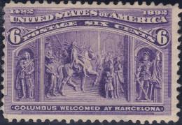 USA 1892 6Cent Mi#78 * Ungebraucht - Unused Stamps