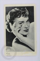 Old Trading Card/ Chromo Topic/ Theme Cinema/ Movie - Ruiz Romero Edit. - Actress: Bella Darvi - Other