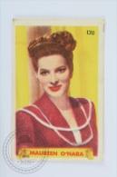 Old Trading Card/ Chromo Topic/ Theme Cinema/ Movie - Actress: Maureen O´Hara - Otros
