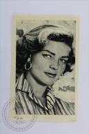 Old Trading Card/ Chromo Topic/ Theme Cinema/ Movie - Ruiz Romero Edit. - Actress: Lauren Bacall - Chocolate