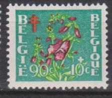 """Belgique N° 836 * """"Antituberculeux"""" - Digitale Pourpre - 1950 - Belgique"""