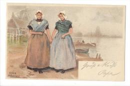 10902 - Goes Hlassiers  Deux Femmes En 1898 - Costumes