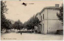 Ganges - La Gare ( édit. Castella ) - Ganges