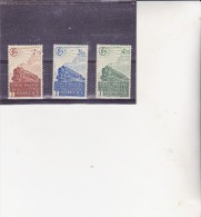 TIMBRES COLIS POSTAUX- NEUF X -N° 183 A 185 - ANNEE 1941 COTE :36,75 €