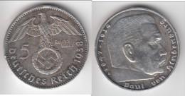 **** ALLEMAGNE - GERMANY - 5 REICHSMARK 1938 A - THIRD REICH - ARGENT - SILVER **** EN ACHAT IMMEDIAT - 5 Reichsmark