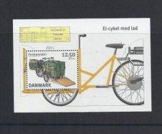 Danish Post   Electric  Bicycle   Denmark.   # 04130 - Post