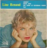 Line Renaud 45t. EP *tilt* - Vinyles