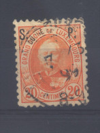 Luxembourg Sv 69 °   (used) - Dienstpost