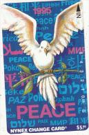 USA(Tamura) - Peace 1995, Nynex Telecard $5, Tirage 4018, Mint - Vereinigte Staaten