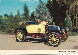 RENAULT  7 CV  1907 - Cartes Postales