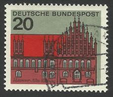 Germany, 20 Pf. 1964, Sc # 869, Mi # 416, Used. - [7] Federal Republic