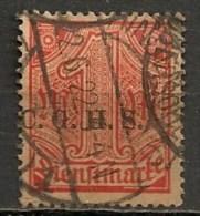 Timbres - Allemagne - Etranger - Dantzig - 1920 - Timbre De Service - 1 Pf. -