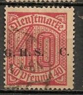 Timbres - Allemagne - Etranger - Dantzig - 1920 - Timbre De Service - 10 Pf. -