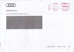 Nederland - Roodfrankering - 8 November 2010 - AUDI - Auto Poppe Terneuzen - PB 821623 - Marcofilie - EMA (Print Machine)
