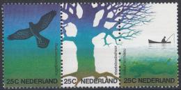 Nederland - Natuur En Mileu (milieustrook) - Postfris/MNH - NVPH 1043 - 1045a - Periode 1949-1980 (Juliana)