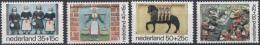 Nederland - Kinderzegels, Gevelstenen - Postfris/MNH - NVPH 1079-1082 - Periode 1949-1980 (Juliana)