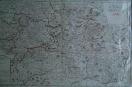 87-  RARE PLAN GENERALITE DE LIMOGES 1715- JAILLOT GEOGRAPHE DU ROI -5 ELECTIONS BRIVE-TULLE-BOURGANEUF-AN GOULEME - Historische Dokumente