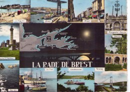 Brest.. Belle Multi-vues.. La Rade De Brest.. Pen-Hir.. Le Fret.. Landevennec.. Terenez.. Daoulas.. Pointe St-Mathieu - Brest