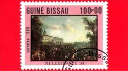 GUINEA BISSAU - 1989 - Rivoluzione Francese - Esposizione Filatelica -  PHILEXFRANCE '89 - 100 - Guinea-Bissau