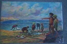87 - LIMOGES - TRES BEAU CARTON PUBLICITAIRE CHAUSSURES SABOTERIE-L. DOYEN 34 FAUBOURG DU PONT NEUF - France