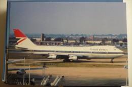B 747 100   BRITISH AIRWAYS   G BDPZ - 1946-....: Moderne
