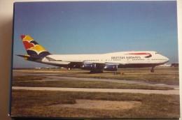 B 747 400   BRITISH AIRWAYS   G CIVU - 1946-....: Moderne