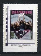 BORDEAUX CHAMPION DE FRANCE 2008-2009 Adhésif Neuf ** - France