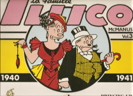 La Famille Illico Par Mc Manus1940-1941 Volume N°3 De 1985 Editions Futuropolis - Livres, BD, Revues