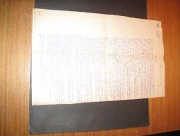 Liège - Procureur Du Roi - Circulaires Du 25/8/13 Et 2/4/1918 - Adressées à Agent  DEAN Guillaume Vaux Sous Chêvremont - Documents Historiques