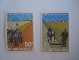 Belgie Belgique Belgium 1965 Boerenbond Tracteur Croskill  1340-1341 MNH ** - Belgien