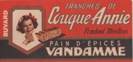 BUVARD - Pain D´épices Vandamme  - Tranche De Couque Annie Fondant Moelleux - Pain D'épices